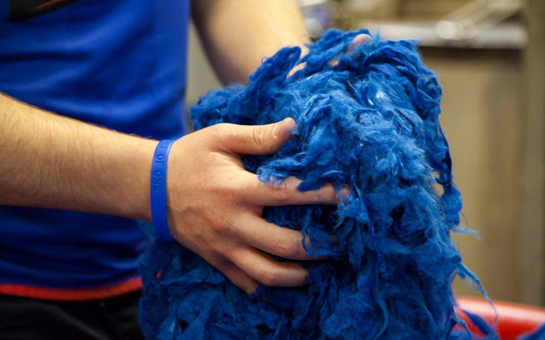 Dyed Wool Harris Tweed
