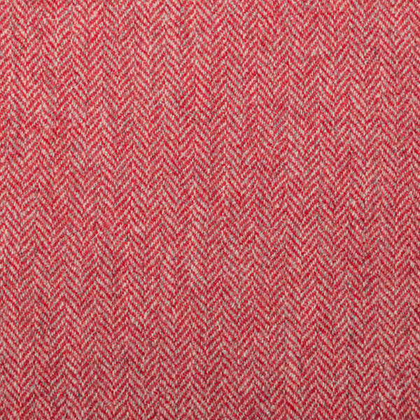 Bold Red Herringbone – 002