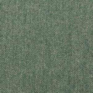 Bold Green Herringbone, BH09017
