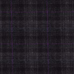 Charcoal with Purple Overcheck – 016