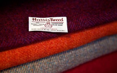 Double win for Harris Tweed in prestigious London Awards